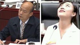 ▲韓國瑜、黃捷(組合圖,翻攝高雄市議會網站)