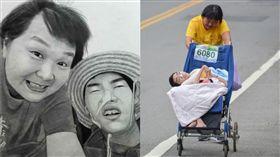 陳嘉齡,單親媽媽,路跑,馬拉松,重度腦性麻痺,母愛