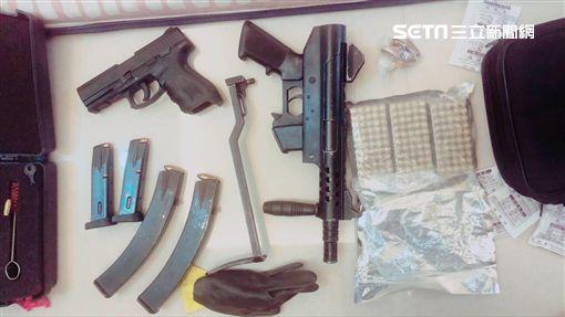 桃園,掃黑,黑幫,槍械,毒品(圖/翻攝畫面)