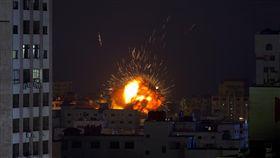 以色列,加薩,土耳其,空襲 (圖/美聯社提供)