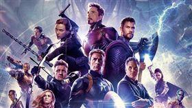 復仇者聯盟4海報。(圖/翻攝自Avengers臉書)