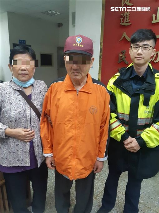 台北,信義,失智,老婦,弟弟。翻攝畫面