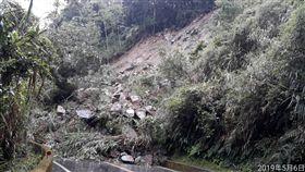 台21線(新中橫公路)坍方/翻攝自臉書玉山國家公園