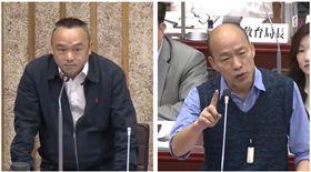 ▲潘恆旭、韓國瑜(組合圖,新聞台)