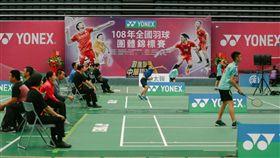 ▲全國羽球團體賽首日國小組賽事。(圖/羽球協會提供)