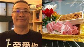 朱學恆 顏清標 滿月酒 (圖/臉書)