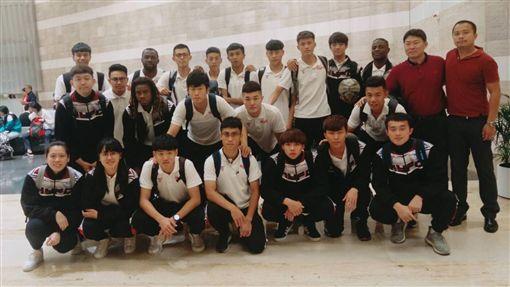▲航源FC在香港對戰傑志。(圖/航源FC提供)