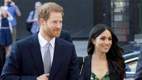 英國哈利王子跟老婆梅根(Meghan Markle)。IG