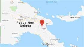 巴布亞紐幾內亞發生規模7.2地震(圖/翻攝自推特)