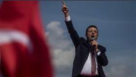 伊斯坦堡市長選舉重新舉行。(圖/翻攝自推特)