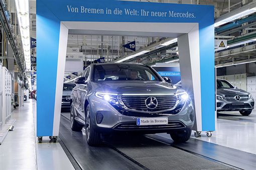 ▲Mercedes-Benz EQC(圖/翻攝網路)