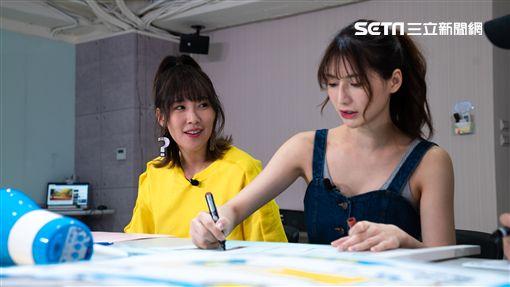 Vidol「懿想天開」主持人李懿又出任務,她與阿澎努力學習按摩技巧
