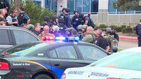 美國科羅拉多州丹佛(Denver)校園發生槍擊(圖/翻攝自推特)