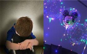 男童,氣球(合成圖/翻攝自YouTube、資料照)