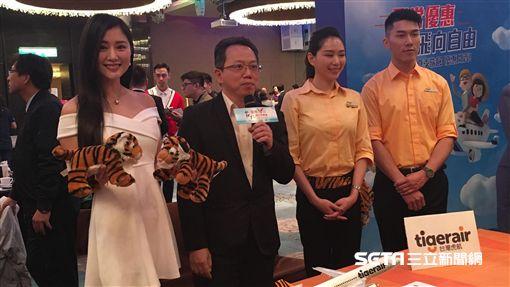 2019台北國際觀光博覽會,TTE,航空,促銷,台灣虎航,/記者蕭筠攝影
