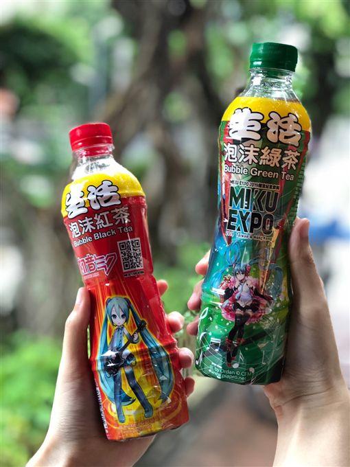 生活飲料,初音未來,紅茶,演唱會,泡沫綠茶,超商