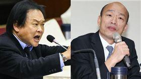韓國瑜自經區跳針發財,王世堅緩頰「他的專業是編織夢想」。(圖/資料照)