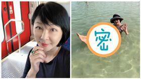 吳淡如赴死海旅遊 圖/翻攝自臉書