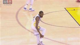 NBA/杜蘭特傷退 阿基里斯腱不妙 NBA,季後賽,金州勇士,Kevin Durant,受傷 翻攝自推特