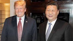 川普、習近平 圖翻攝自Donald J. Trump臉書