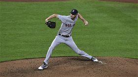 ▲波士頓紅襪強投Chris Sale出手點與眾不同。(圖/美聯社/達志影像)