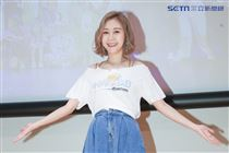 小可樂果為愛發聲感恩音樂會藝人范乙霏。(記者林士傑/攝影)