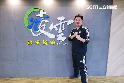 跆拳道教練葛之浩李鴻典攝