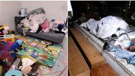 全職媽媽,整理,打掃,環境,髒亂(圖/翻攝自爆怨公社)