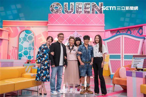 曹格、吳速玲、黃小柔夫妻、藍心湄《女人我最大》圖/TVBS提供