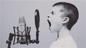 唱歌。(圖/Pixabay)