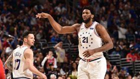 NBA/暴龍慘敗!七六人逼進搶7 NBA,季後賽,費城七六人,Joel Embiid 翻攝自NBA官方推特