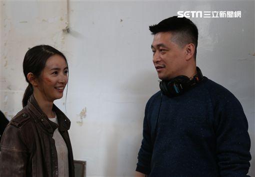 《台北電影節》,林依晨與導演連奕琦。(圖/台北電影節提供)