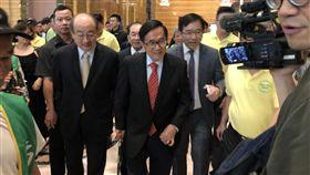陳致中,陳水扁,凱達格蘭基金會,餐會,總統,柯文哲 圖/黃宣尹攝影