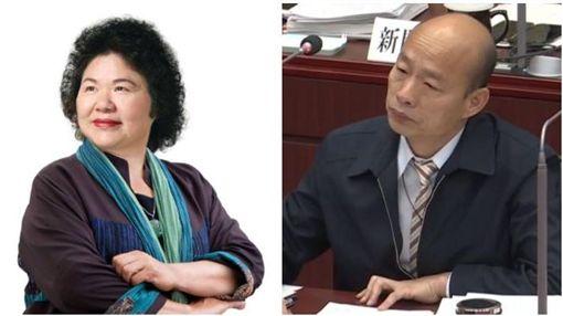 ▲陳菊、韓國瑜(組合圖,資料畫面)