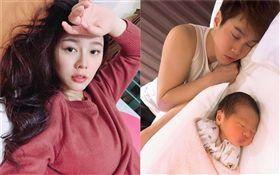 白家綺,吳東諺,懷孕,生產/翻攝自白家綺臉書