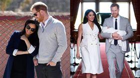 英國哈利王子與梅根王妃。(圖/sussexroyal IG)