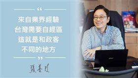 張善政批評蔡英文。