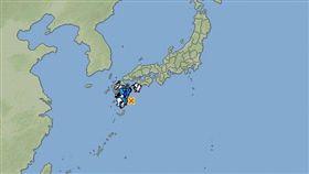 日本南部外海今(10)日發生地震,初估規模6.3。