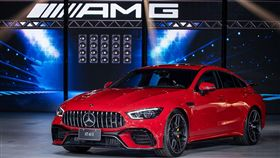 ▲Mercedes-AMG GT 4-Door Coupé。(圖/Mercedes-Benz提供)