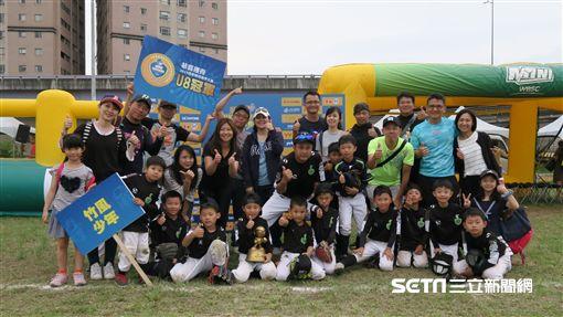 竹風少年社區棒球隊圖/蔡富丞教練授權提供