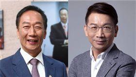 徐永明,郭台銘(臉書合成照)