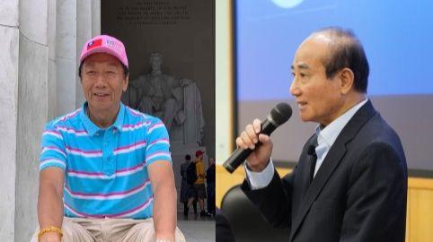 郭台銘,王金平,組合圖