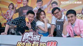 食尚玩家歡樂有夠讚,曾國城,詹姆士,曾子余,dora 圖/TVBS提供