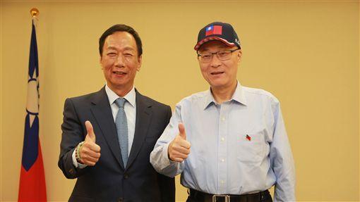 吳敦義與郭台銘會面 圖/中國國民黨提供