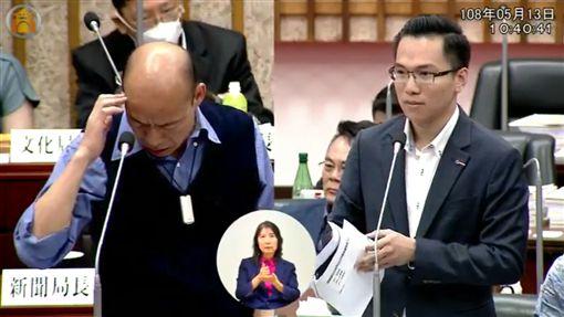 林智鴻,韓國瑜,議會,高雄,發大財