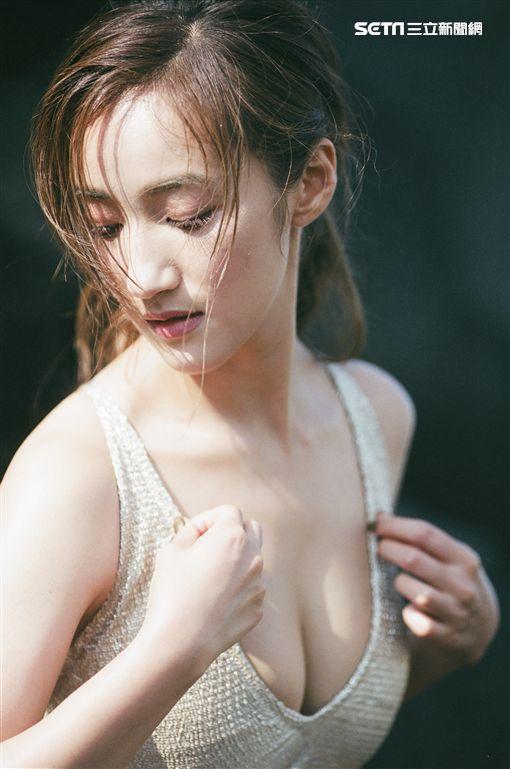 夏宇禾拍《GQ》 圖/民視提供