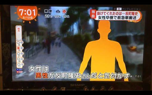 反町隆史 救好心人  (圖/推特)