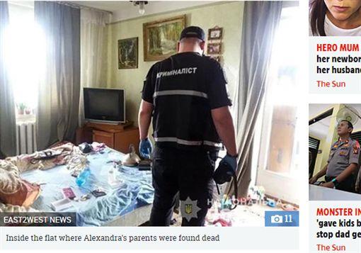 烏克蘭,父母,猝死,女童 (圖/翻攝自太陽報)
