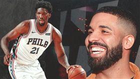 NBA/七六人遭絕殺竟因神秘力量? NBA,季後賽,多倫多暴龍,費城七六人,Drake 翻攝自推特ClutchPoints