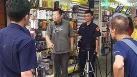 加拿大籍李姓男子在西門町街頭飆罵路人(翻攝畫面)